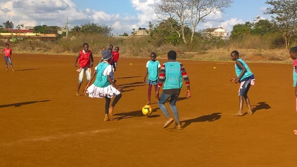 The First ever NGUVU Football Girls Selection Team