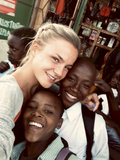 Gillian as a Volunteer in Africa-Kenya!
